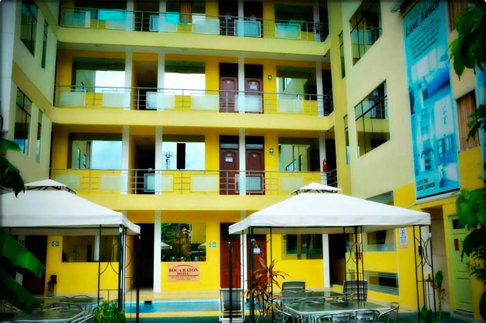 Hotel Boca Raton (Habitacion Doble) Hotel 3 Estrellas - TinganaTours